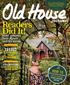 BSE's Old-House Journal 40th Anniversary cover