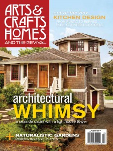 BSE Cover shot for Arts & Crafts Home Spring 2014