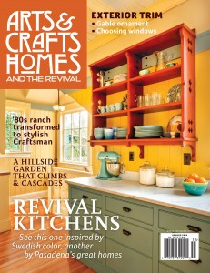 Arts & Crafts Homes Cover