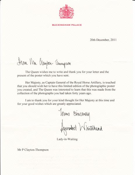 Happy New Year From Her Majesty — BLACKSTONE EDGE STUDIOS